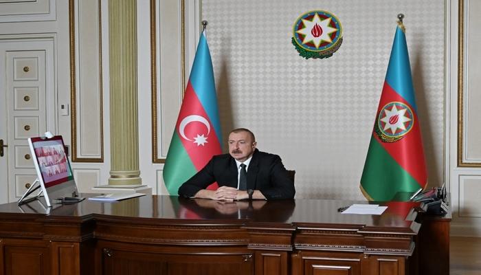 İlham Əliyev Qazaxıstan prezidentinə təşəkkür etdi
