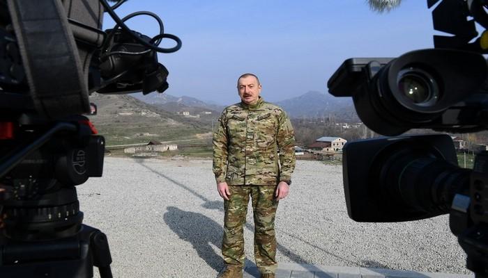 """İlham Əliyev: """"Strateji hədəflərə çatmaq üçün önəmli sənədləri imzaladıq"""""""