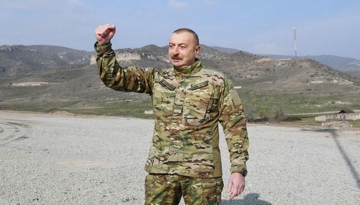 """İlham Əliyev: """"Şuşada bərpa işlərinə start verilir"""""""