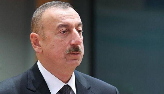 İlham Əliyev yenidən qurulan avtomobil yolunun açılışında