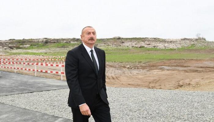 Prezident və xanımı Zəngilanda...
