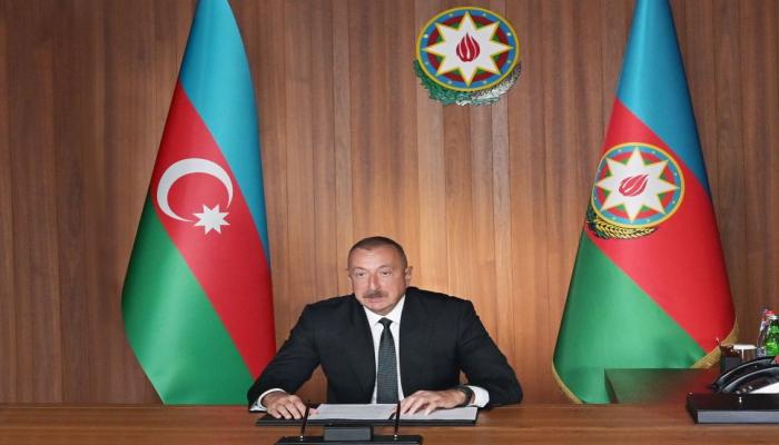 Президент Ильхам Алиев: В официальной идеологии Армении молодому поколению прививается ненависть к азербайджанскому народу