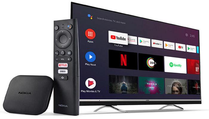 """İlk """"Nokia"""" televizor qurğusu təqdim olunub"""