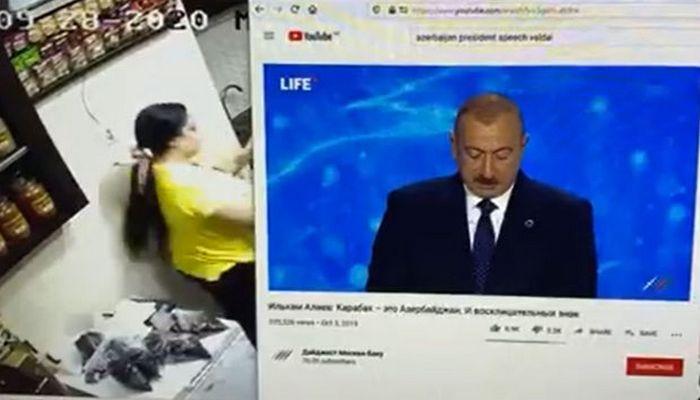 İrəvanın mərkəzində İlham Əliyevin çıxışı yayımlandı