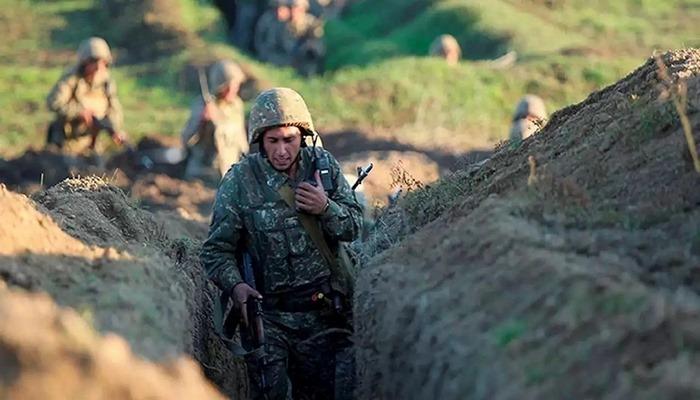İşğalçı erməni ordusunun əsgəri döyüşməmək üçün hərbi hissədən qaçdı