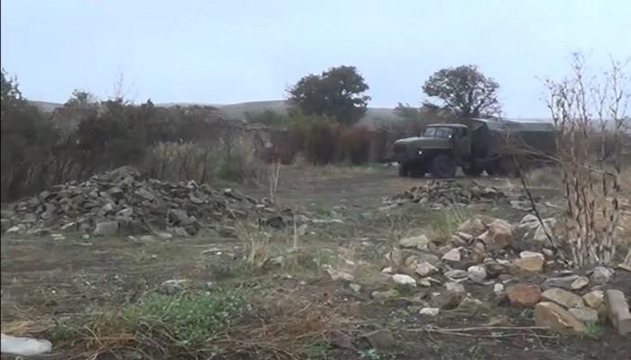 İşğaldan azad edilmiş Cəbrayıl rayonunun Çaxırlı kəndinin videogörüntülərini təqdim edirik