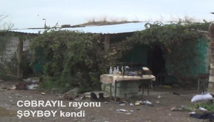 İşğaldan azad olunan Cəbrayıl rayonunun Şəybəy kəndi