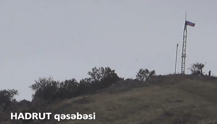 İşğaldan azad olunan Hadrut qəsəbəsi