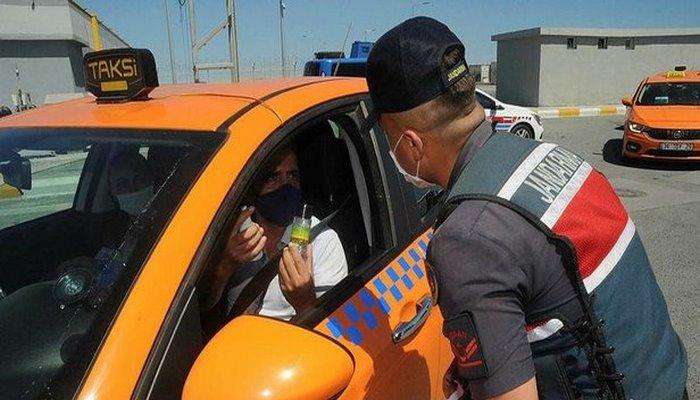 İstanbul Havalimanı'nda Kovid-19 denetimi! Araçlar tek tek durduruldu