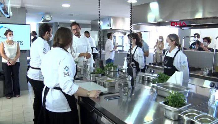 İSTANBUL İtalyan şef Danilo'dan geleceğin şeflerine mutfak tüyoları