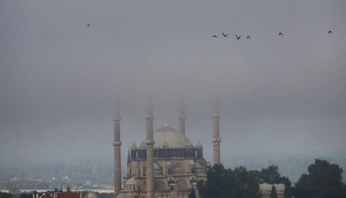 İstanbul'da sis... Göz gözü görmedi.