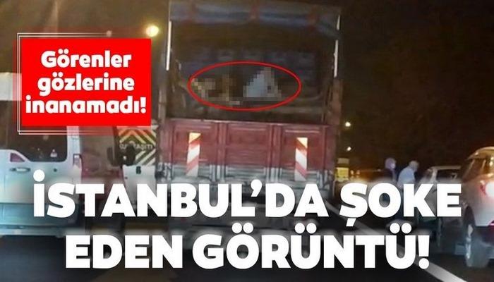 İstanbul'da şoke eden yolculuk! Görenler gözlerine inanamadı...