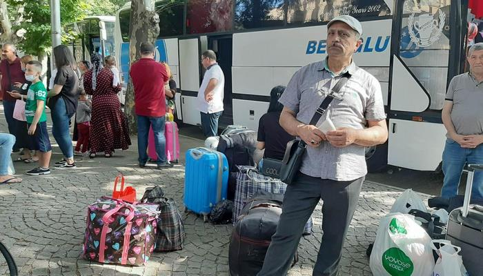 Из Грузии эвакуируют около 250 азербайджанцев