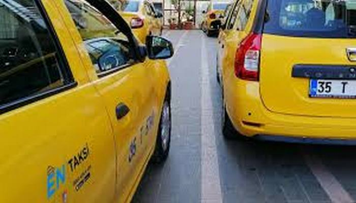 İzmir'de taksilere zam