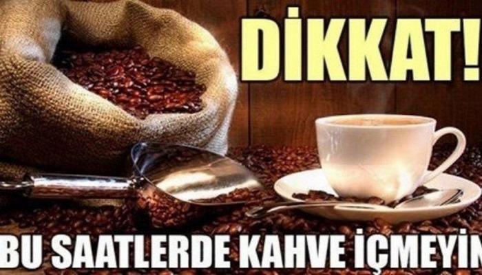 Kahveyi Bu Saatlerde İçmekten Kaçının Zararlı Oluyor