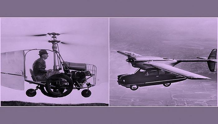 Keçmişdə real mövcud olmuş uçan avtomobillər