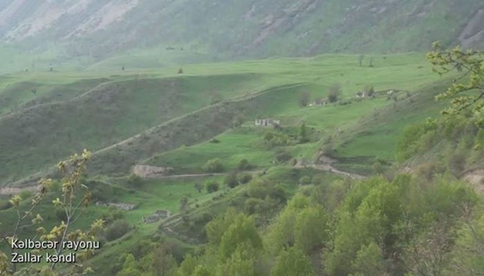 Kəlbəcər rayonunun Zallar kəndindən görüntülər