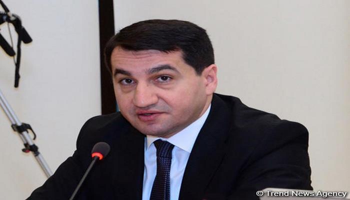 Хикмет Гаджиев: Армения старается создать новый источник конфронтации, чтобы усилить напряжение в регионе