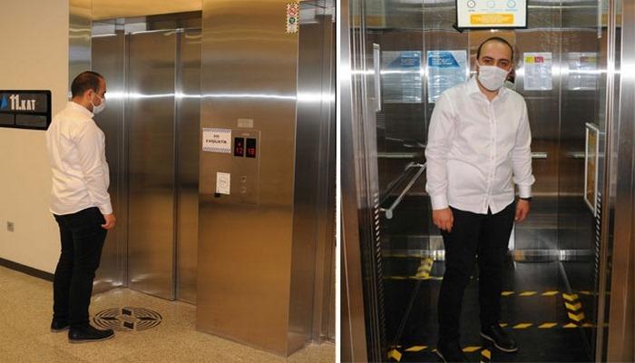 Koronavirüse karşı ses komutuyla çalışan asansör sistemi geliştirildi