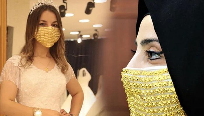 Kuyumculardan altın maske atağı! Gelinler için!
