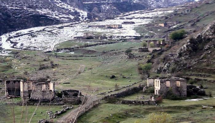 Laçın rayonunun Hüsülü və Malıbəy kəndlərinin görüntüləri