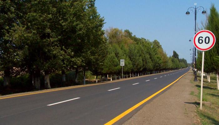 В Лянкяране реконструировано 38 км автодорог общего пользования