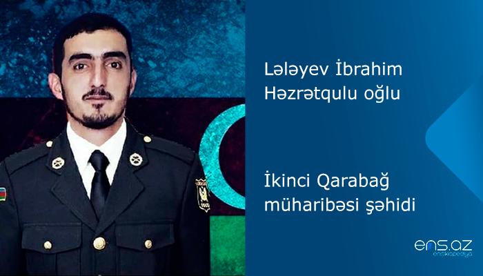 Lələyev İbrahim Həzrətqulu oğlu