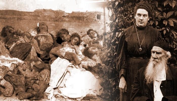 Lev Tolstoyun qızı erməni vəhşilikləri haqqında
