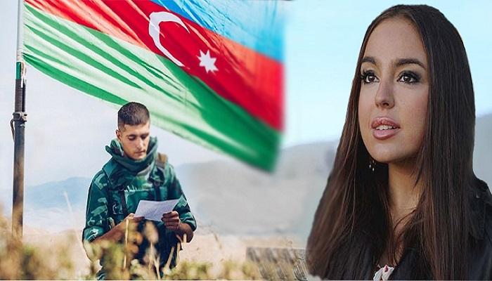 Leyla Əliyeva Azərbaycan əsgəri haqqında