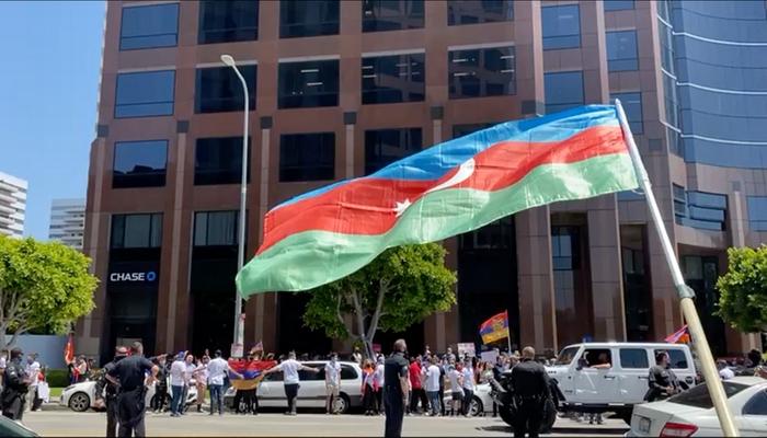 Los Anceles polisi erməni lobbisinin yalanlarını ifşa etdi - VİDEO