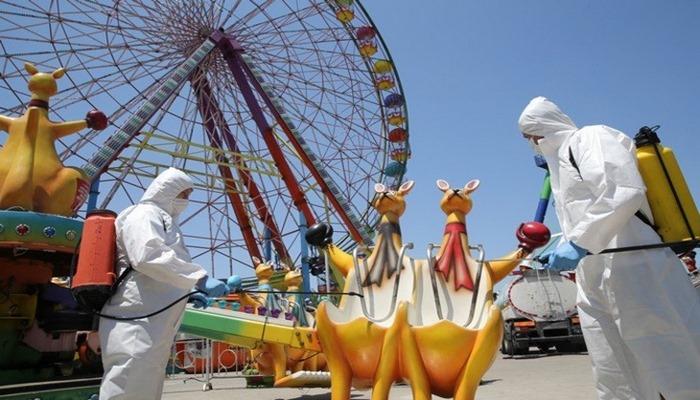 Lunapark ve tematik parklar 4 ay sonra yeniden açıld