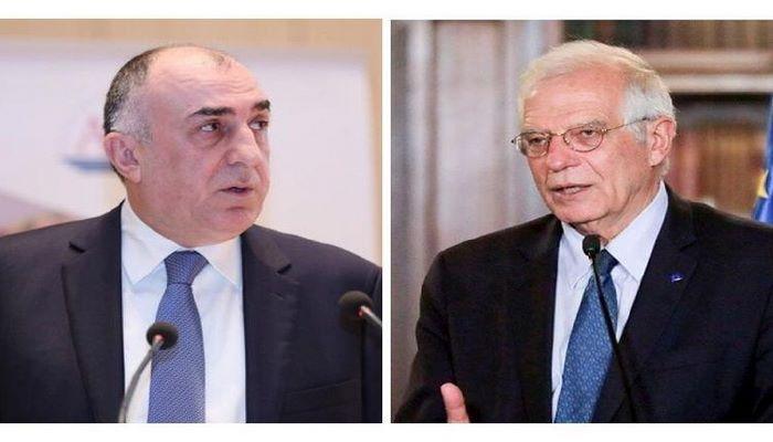 Мамедъяров рассказал верховному представителю ЕС о событиях на азербайджано-армянской границе