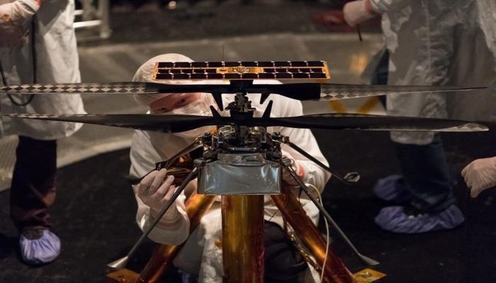 Marsda tarixdə ilk dəfə dron buraxılacaq