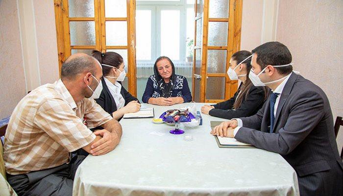 Mehriban Əliyeva 12 şəhid hərbçi ilə bağlı tapşırıq verdi