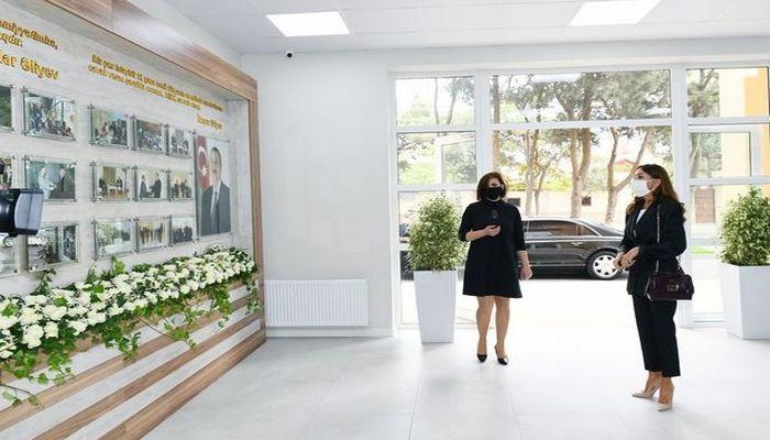Mehriban Əliyeva Bakıda Uşaq İncəsənət Məktəbinin yeni binasının açılışında iştirak etdi