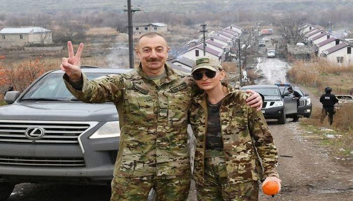 Mehriban Əliyeva Füzuli, Zəngilan, Qubadlı, Laçın və Cəbrayıldan paylaşım etdi