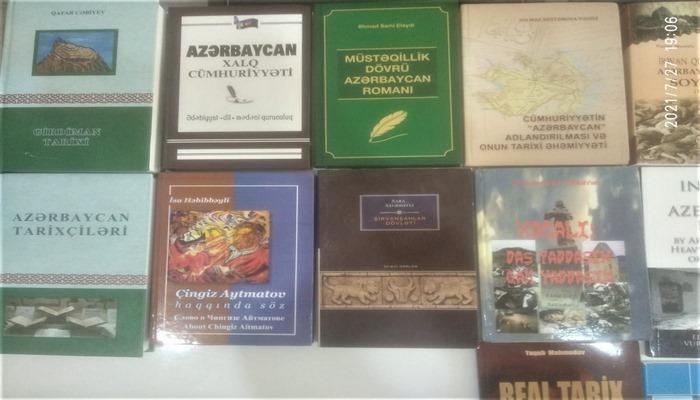 MEK tərəfindən Antalya Azərbaycan Kültür və Dayanışma Dərnəyinə kitablar hədiyyə edilib