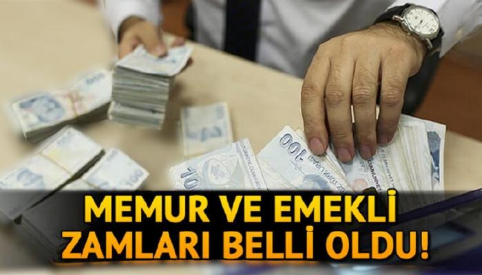 Memur ve emekli zammı açıklandı! 2021 Memur ve emekli maaşları ne kadar oldu?