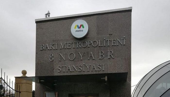 """Metropoliten rəsmisindən """"8 Noyabr"""" stansiyası ilə bağlı AÇIQLAMA"""
