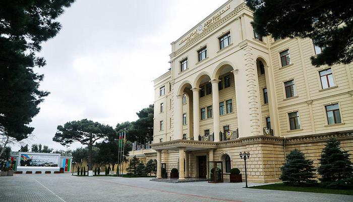 Минобороны: Отдельная общевойсковая армия Нахчывана приняла адекватные меры в ответ на действия армянской стороны