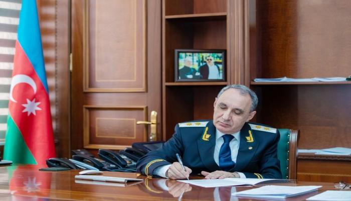 Kamran Əliyev prokuror köməkçisini işdən çıxardı