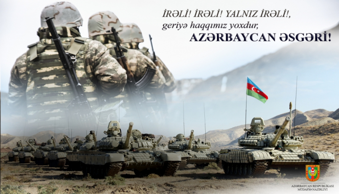 Müdafiə Nazirliyindən Azərbaycan Ordusunun hərbi qüdrəti ilə bağlı PAYLAŞIM