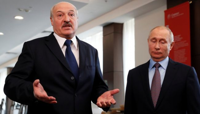 """Lukaşenko Putinə təşəkkür etdi: """"Dost dar gündə tanınar"""""""