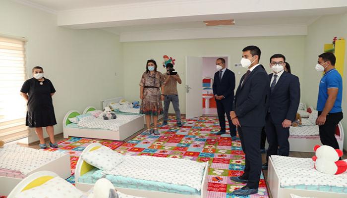 Heydər Əliyev Fondunun dəstəyi ilə tikilmiş bağçaların açılışı oldu