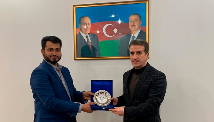 Mr. Rafique Ahmed DG, THSI met with Ambassidor of Azerbaijan in Pakistan.