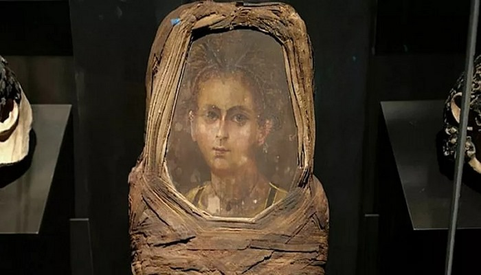 'Mumya portresi'yle teknoloji birleşti, Mısırlı çocuğun yüzü ortaya çıktı