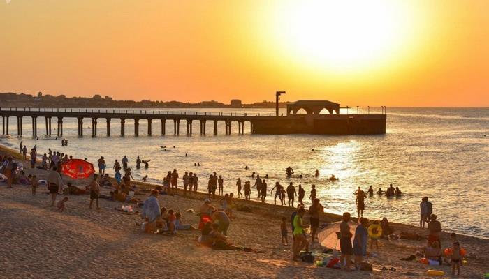 На пляжах запрещена организация игр