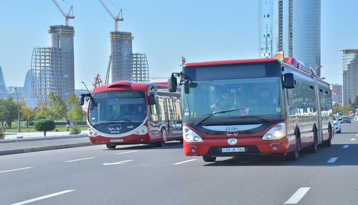 На выходные в Баку приостанавливается функционирование регулярных и экспресс-автобусов