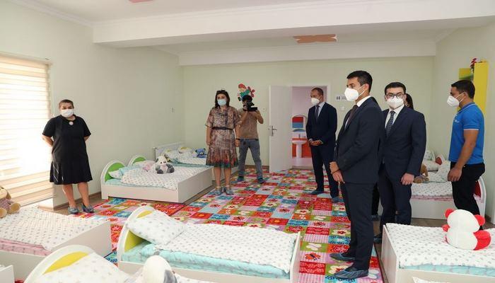 В Хазарском районе Баку состоялось открытие детсадов, построенных Фондом Гейдара Алиева