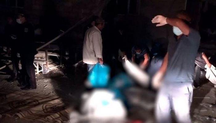 Naftalanda bir ailənin beş üzvünün düşmən təxribatı ilə öldüyü evdən dəhşətli kadrlar - VİDEOREPORTAJ